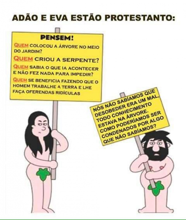 Protesto no Éden